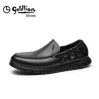 goldlion 金利来 59891004601A 男款休闲皮鞋