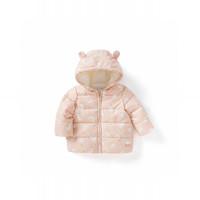 巴拉巴拉宝宝棉服儿童棉袄婴儿棉衣加绒加厚儿童冬装2019新款女童