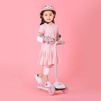 柒小佰萌趣兒童滑板車 粉色