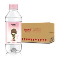 悅動力 蘇打水 蜜桃味 弱堿性水 無糖無汽 飲料 350ml*24瓶 禮盒裝 *2件