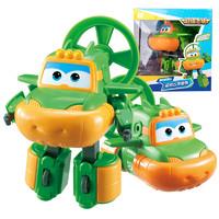 奧迪雙鉆(AULDEY)超級飛俠 男孩女孩兒童玩具 變形機器人-奇奇730253 *3件+湊單品
