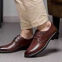 RED DRAGONFLY 红蜻蜓 WTA8112 男士商务皮鞋