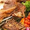 吃貨福利 : Plus版大閘蟹轉盤,3種口味暢吃到爽!上海大華錦繡假日酒店大閘蟹+烤全羊主題自助晚餐