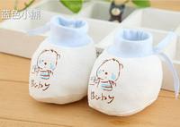 新生兒嬰兒軟底棉鞋子保暖