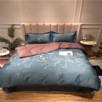 Xanlenss 轩蓝仕 埃及60支长绒棉贡缎印花四件套 1.5米床