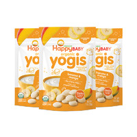 禧貝 有機酸奶溶豆香蕉芒果味 28g 3袋 *2件