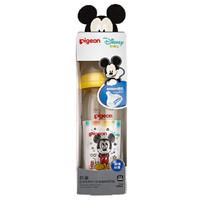 Disney 貝親 寬口徑玻璃奶瓶 240ml配L奶嘴