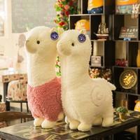 BaoXinBear 抱心熊 羊驼毛绒玩具 28cm