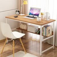 海洋衛士 電腦桌臺式筆記本家用簡易辦公桌寫字臺簡約書桌子 升級版100X50古橡木色 *2件