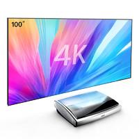 JmGO 堅果 U1 4K激光電視 含100吋黑柵抗光屏