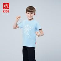 UNIQLO 優衣庫 男童印花短袖 417246