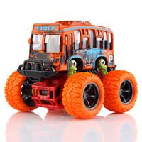 DODOELEPHANT 豆豆象 合金玩具車 慣性Q版巴士車 *5件