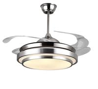 V-POWER隱形風扇燈 吊扇燈 帶燈吊扇LED餐廳吊燈 客廳吊燈具變光001 42寸三色變光