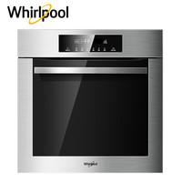 惠而浦( Whirlpool) AKZ40S9561A 嵌入式電烤箱60L大容量家用多功能智能烘培烤箱