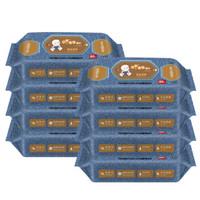 酷帕(KUPA) 組合裝酷帕牛仔系列口手濕巾80片*8包(640片)-4182