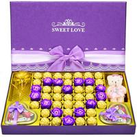 德芙巧克力禮盒送女送老婆友生日禮物巧克力禮盒浪漫告白禮物