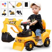 兒童電動挖掘機
