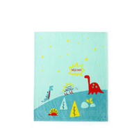 京東PLUS會員 : misslele 米樂魚 嬰幼兒蓋毯 95*110cm *3件