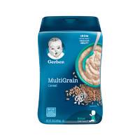 嘉寶(Gerber)米粉輔食混合谷物米粉 2段 454g/罐裝 6個月以上
