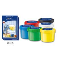 值友專享 : STAEDTLER 施德樓 8816 兒童手指畫顏料 6色
