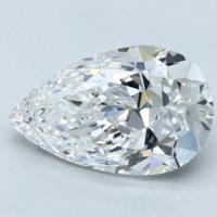 Blue Nile 3.01克拉 梨形钻石(切工VG,成色D,净度VVS2)