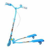熊出沒 兒童蛙式滑行車 3701藍色