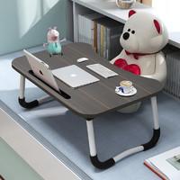 床上書桌筆記本電腦桌可折疊懶人學生宿舍簡約寫字小桌子學習桌
