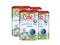 Cow Gate 英國 牛欄奶粉 3段 1-2歲 4罐裝