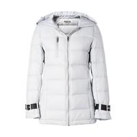 限尺碼 : 美特斯邦威連帽輕薄織帶袖口冬季新款時尚韓版學院羽絨服
