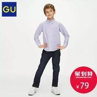 GU極優童裝彈力牛仔褲(水洗產品)兒童牛仔松緊褲長褲317352