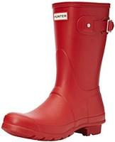 Hunter 女式原創短款后背可調節雨鞋