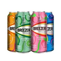 運費券收割機:冰銳(Breezer)洋酒 3°朗姆預調酒 繽紛四口味組合裝 330ml*4 *2件