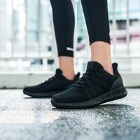 安踏女鞋運動休閑鞋秋季新款網面運動舒適女鞋