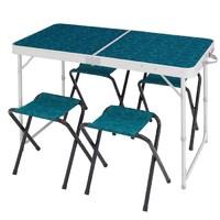 DECATHLON 迪卡儂 1302088388687 露營折疊桌椅套裝