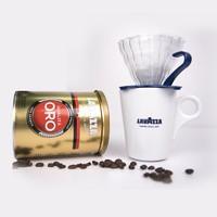 LAVAZZA拉瓦薩意大利進口oro歐羅金咖啡限量禮盒