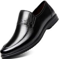 RED DRAGONFLY 紅蜻蜓 WTA6505 真皮商務透氣皮鞋
