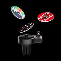 車載香水汽車出風口唱片機香薰補充香片香膏香氛持久淡香車內裝飾