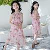 花樣童依 女童新款波吊帶裙子