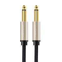 綠聯6.5mm音頻線公對公話筒功放電吉他調音臺對錄線6.35毫米    2米