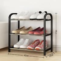 守候 三層簡易鞋架 44*42*19cm
