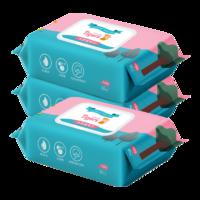 六只小虎 嬰兒濕紙巾 3包裝 (80抽/包)