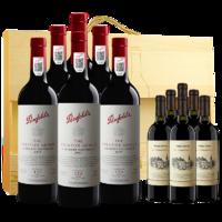 澳洲進口紅酒 奔富175周年紀念款赤霞珠紅葡萄酒750ml*6 整箱裝