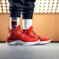 安踏男款籃球鞋秋冬新款舒適運動鞋百搭球鞋籃球鞋