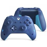 微軟 (Microsoft) Xbox無線控制器/手柄 寶石藍   3.5mm耳機接口 藍牙連接 適配主機電腦平板