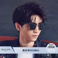 BOLON暴龍2019新款男近視太陽眼鏡王俊凱同款開車墨鏡潮TCBL6081