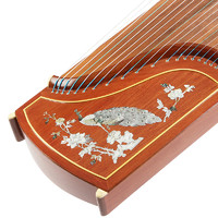 润扬古筝 顾继云大师签名彩螺古筝 专业10级 扬州演奏专业乐器