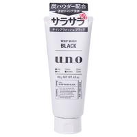 日本資生堂UNO吾諾活性炭控油男士洗面奶130g *5件