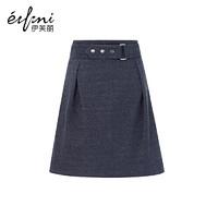 伊芙麗冬裝新款韓版修身純色A字裙半身裙短裙 *3件