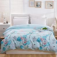 伊迪夢家紡 全棉被罩單件單品被套 斜紋純棉床上用品200*230 220*240雙人床FY31