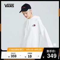 Vans范斯 女子連帽衛衣 運動休閑玫瑰花朵官方正品